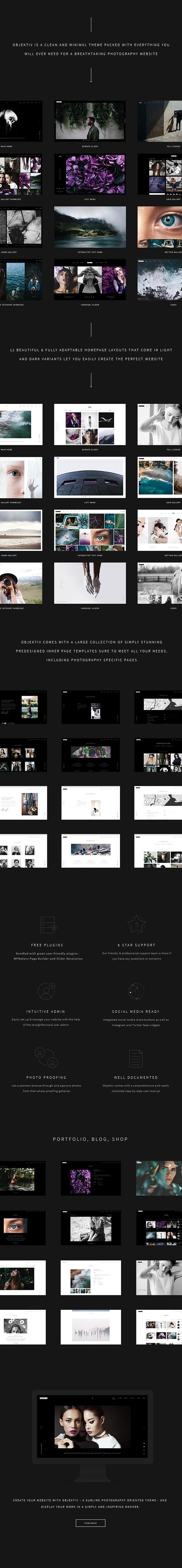 Objektiv - Photography Theme - 1
